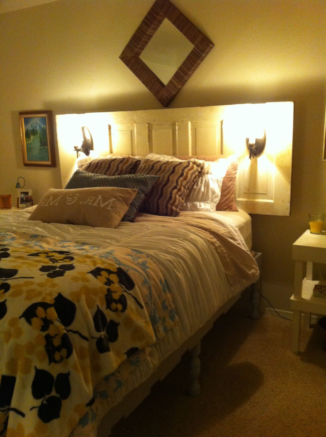 Unique Headboard And Bed Unique Headboards Home Decor