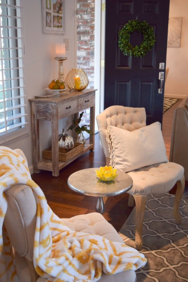 Update Your Home Decor For Autumn With Decorative