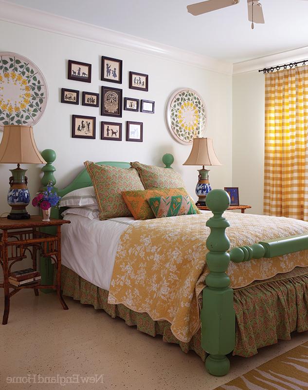 Vintage Farmhouse Bedroom Color