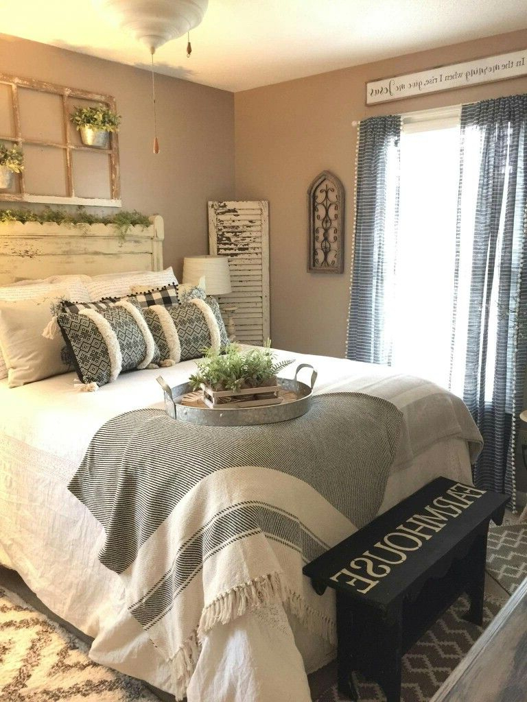 Warm And Cozy Farmhouse Bedroom Furniture Master