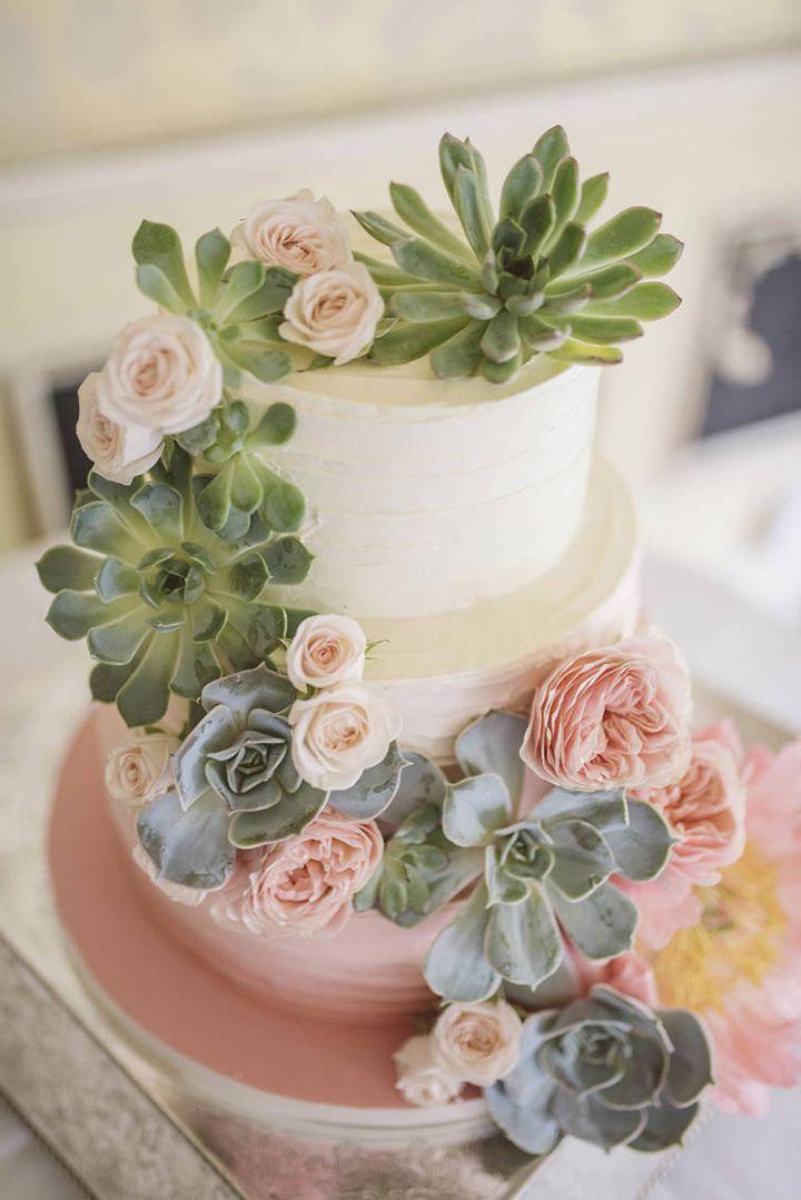 Wedding Inspiration In 2020 Succulent Wedding Cakes