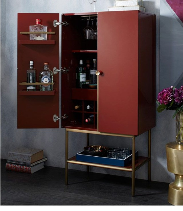 West Elm Bar Cabinet This Has To Be An Ikea Hack Or