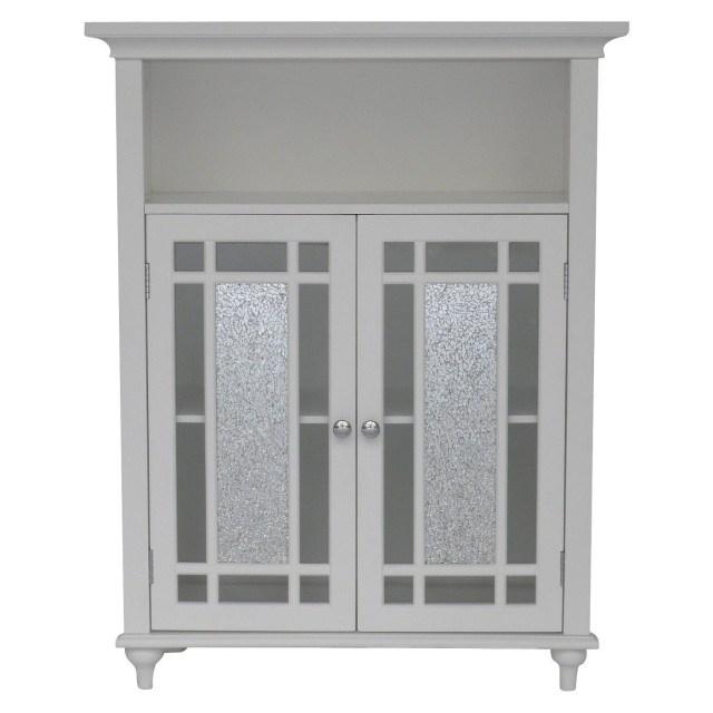 Windsor Double Door Cabinet Elegant Home Fashions