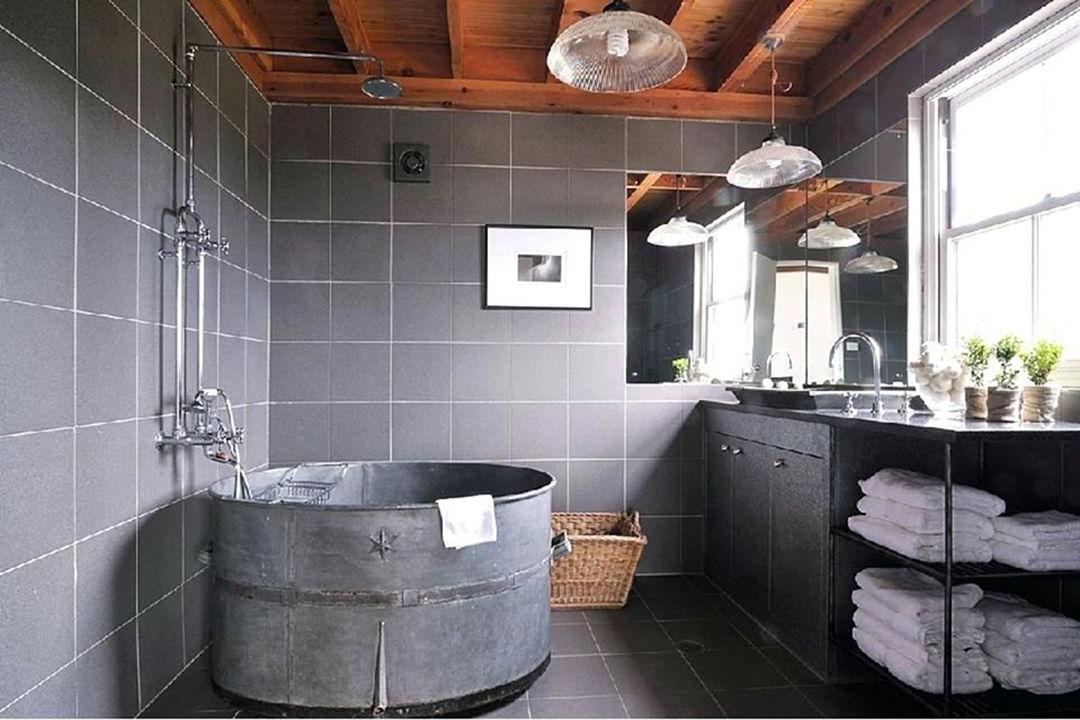 Wonderful Industrial Bathroom Ideas Decor Its