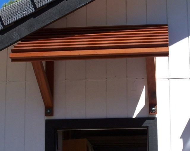 Wood Awning For Front Door You Need To Go For One That