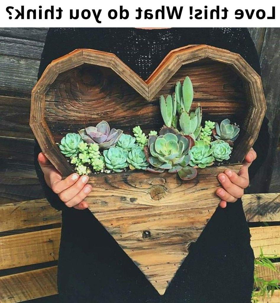 Wood Succulent Planter Elaine Davis On Crafts