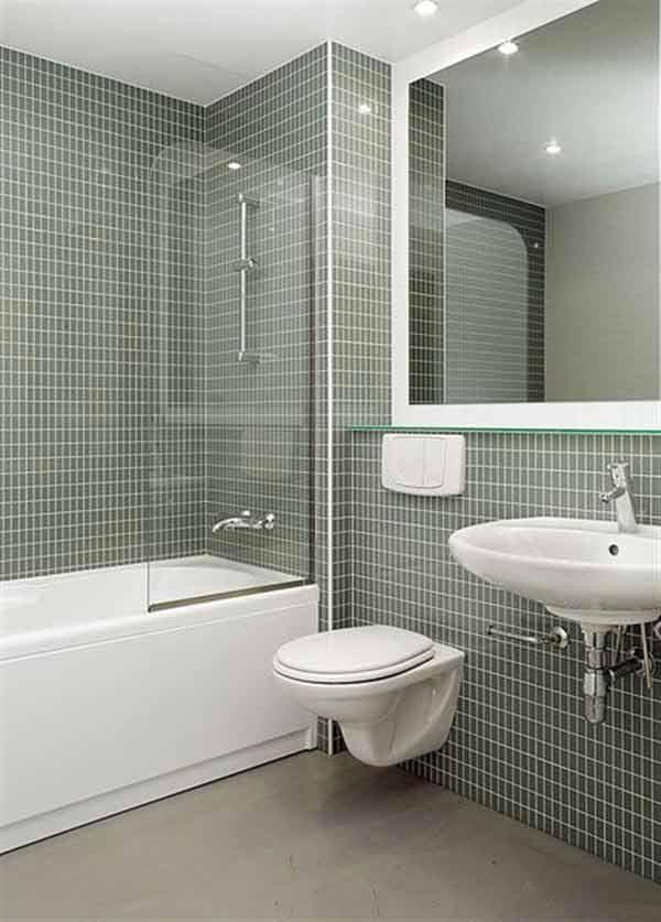 Contemporary Modular Prefabricated Bathroom From