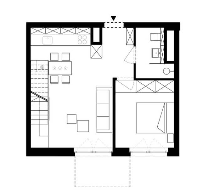 Small Duplex Apartment Plan Discover
