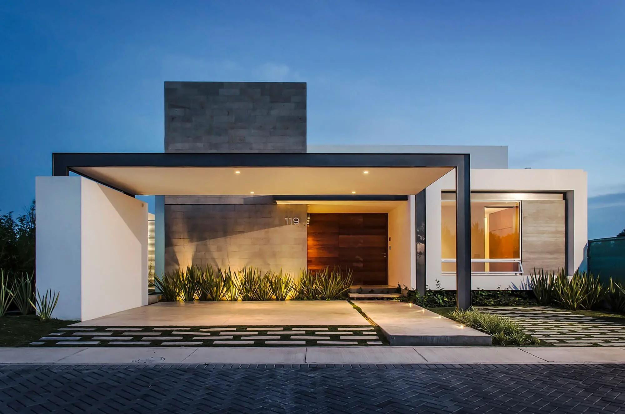10 Modern One Story House Design Ideas