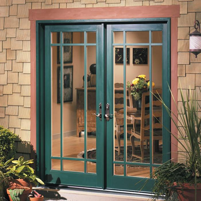 out swing french patio doors exterior