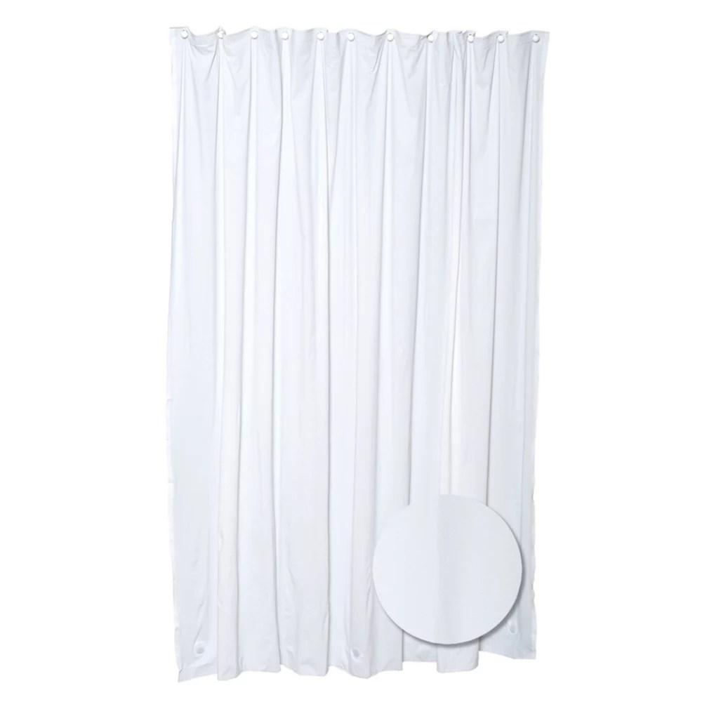 heavy gauge shower liner white