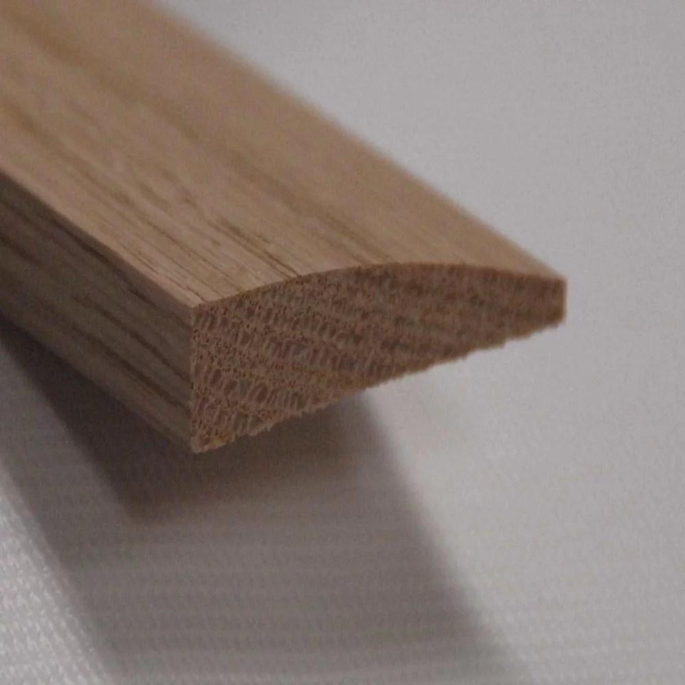 red oak reducer floor moulding natural 7 16 inch