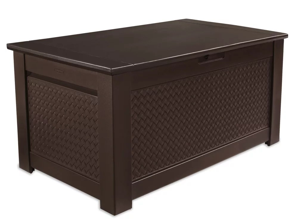 12 5 cu ft storage bench deck box