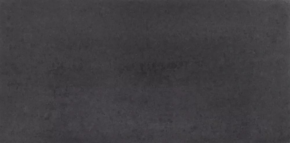 division black 12 inch x 24 inch polished porcelain tile