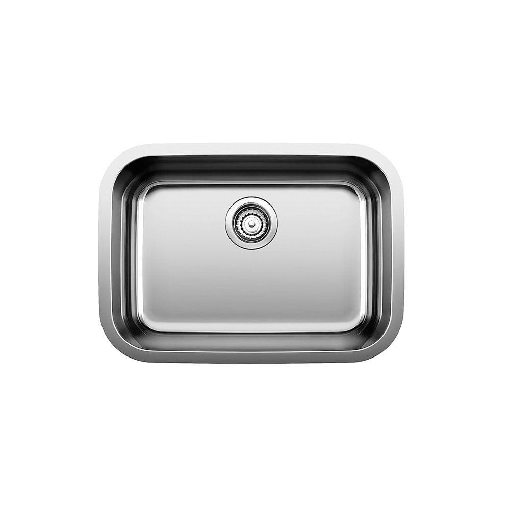 essential u 1 stainless steel single bowl undermount kitchen sink