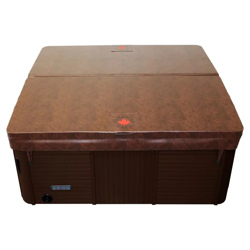 Canadian Spa Company 84 Inch X 84 Inch Square Hot Tub Cover With 5 Inch 3 Inch Taper In Ch The Home Depot Canada