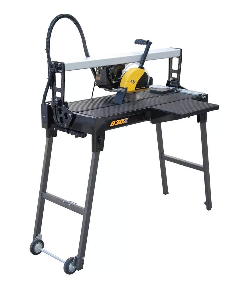 30 inch bridge tile saw with water system and stand