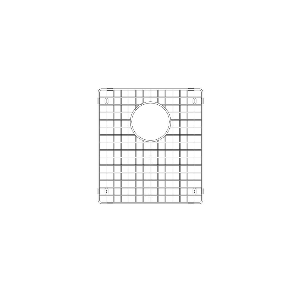 sink grid for precision radius quatrus sinks stainless steel