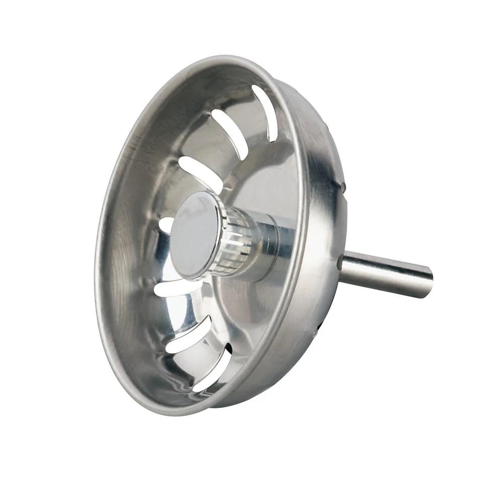 kitchen basket strainer ball lock