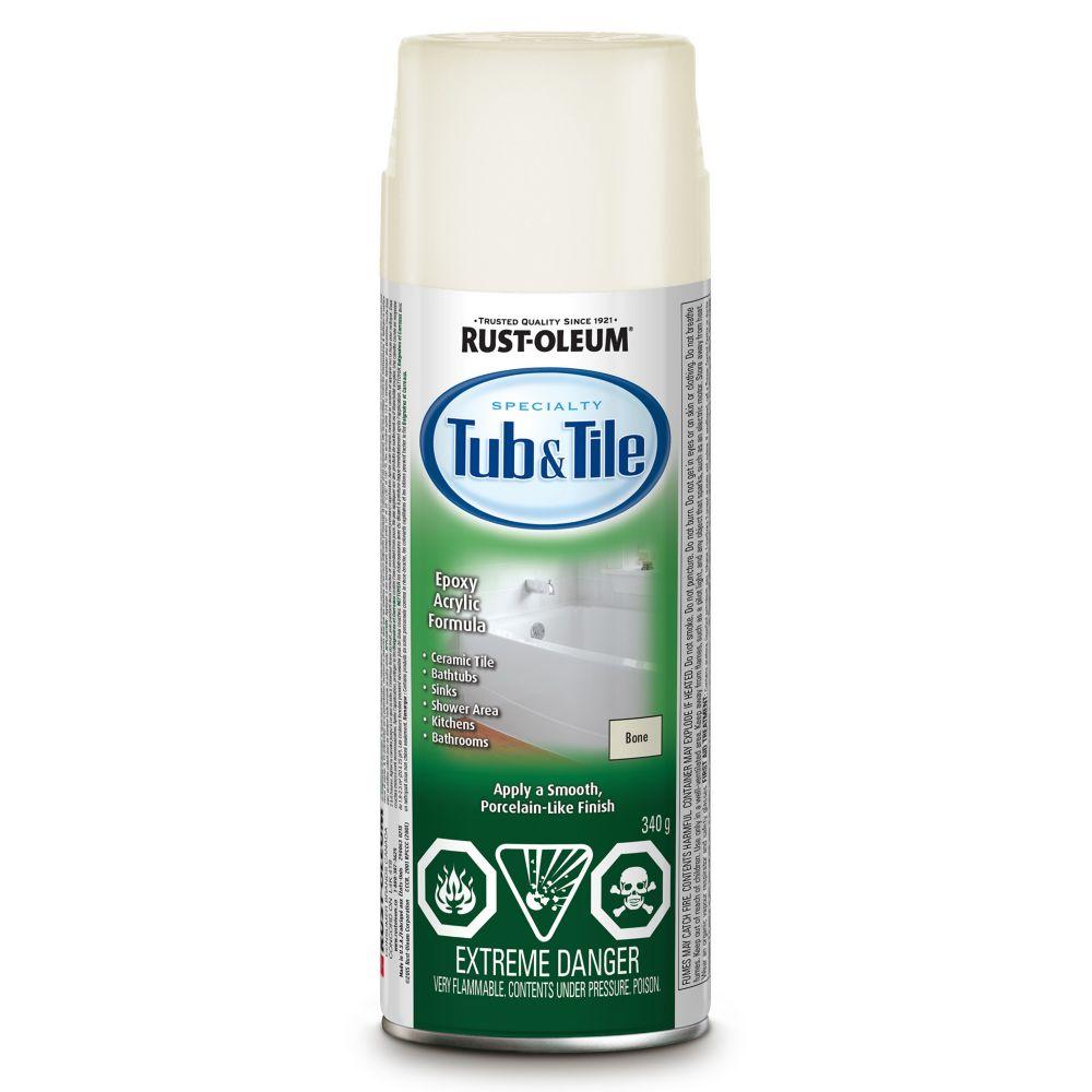 tub tile aerosol in flat bone 340 g