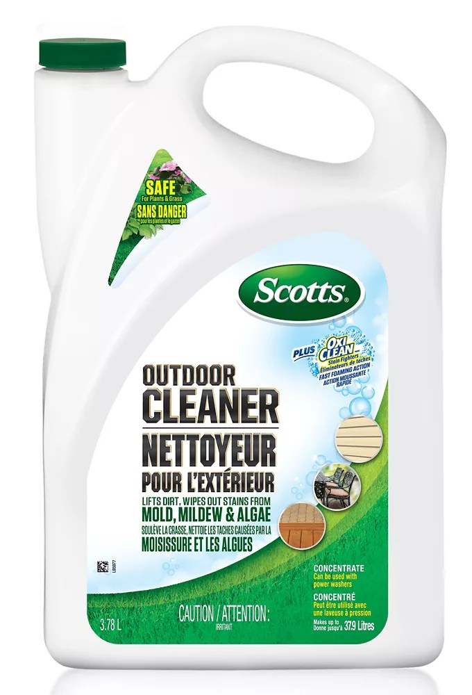 3 78 l outdoor cleaner plus oxiclean concentrate