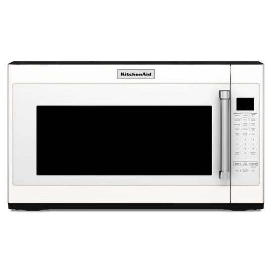 2 0 cu ft over the range microwave in white