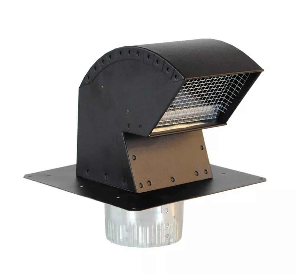 4 inch roof vent cap with collar