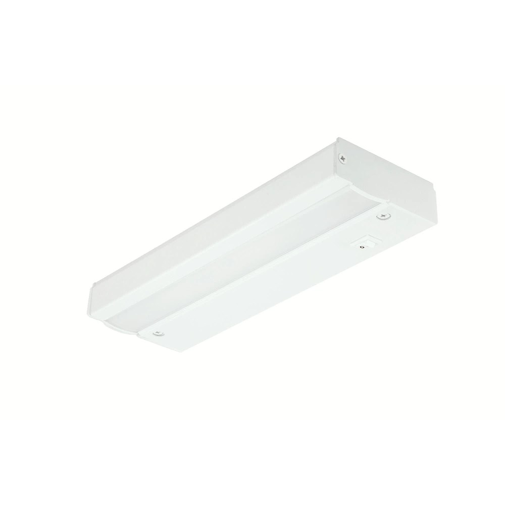 9 inch led direct wire under cabinet light in white energy star
