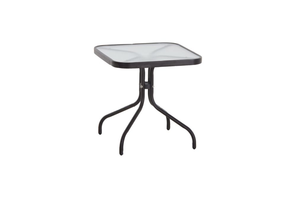 18 inch x 18 inch patio side table