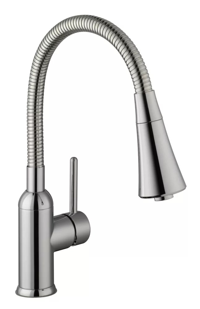 pull down laundry faucet