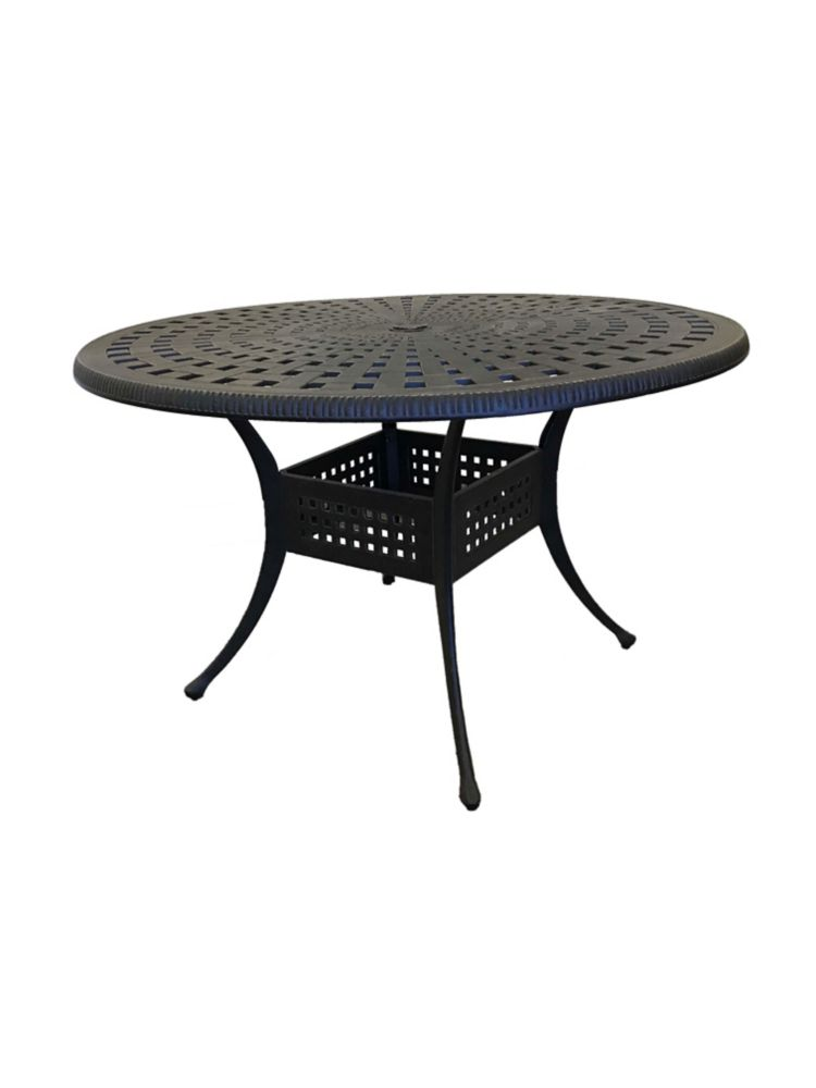 maxwell 48 inch round patio table