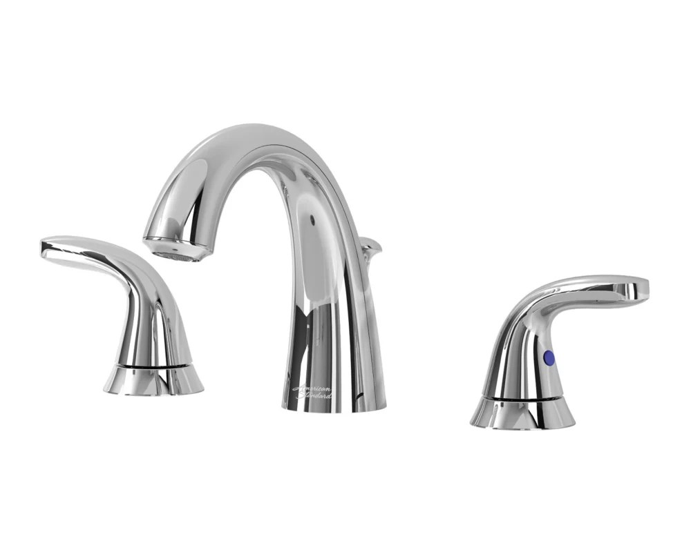 cadet 2 handle widespread faucet in chrome