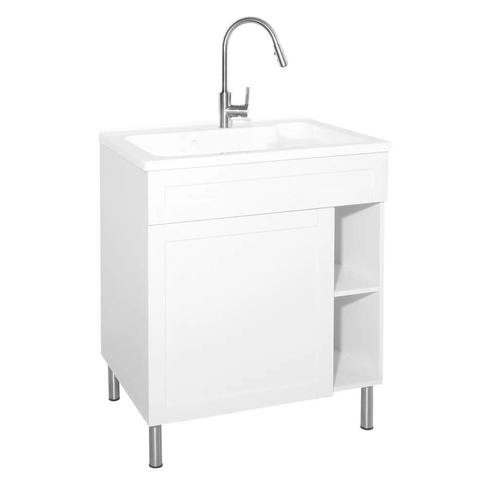 glacier bay 30 inch laundry cabinet