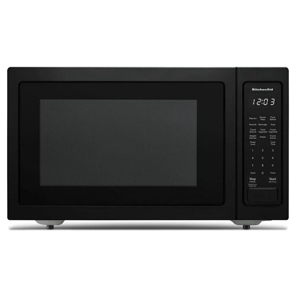 1 5 cu ft countertop convection microwave in printshield black stainless steel