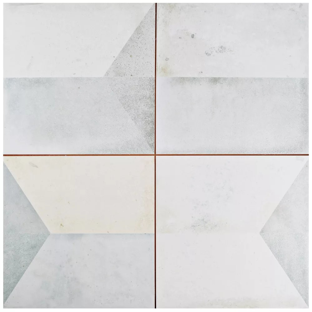 geomento 17 5 8 inch x 17 5 8 inch ceramic floor and wall tile 11 02 sq ft case