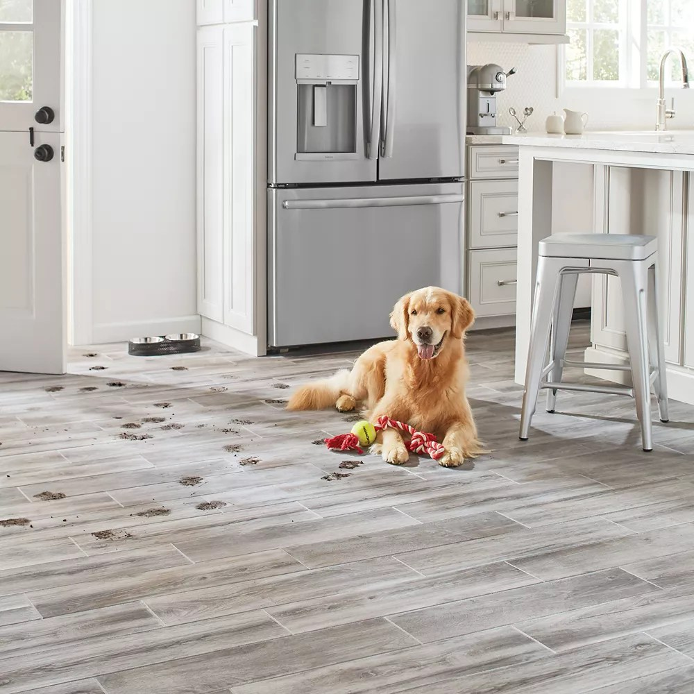 shadow wood 6 inch x 24 inch glazed porcelain floor and wall tile