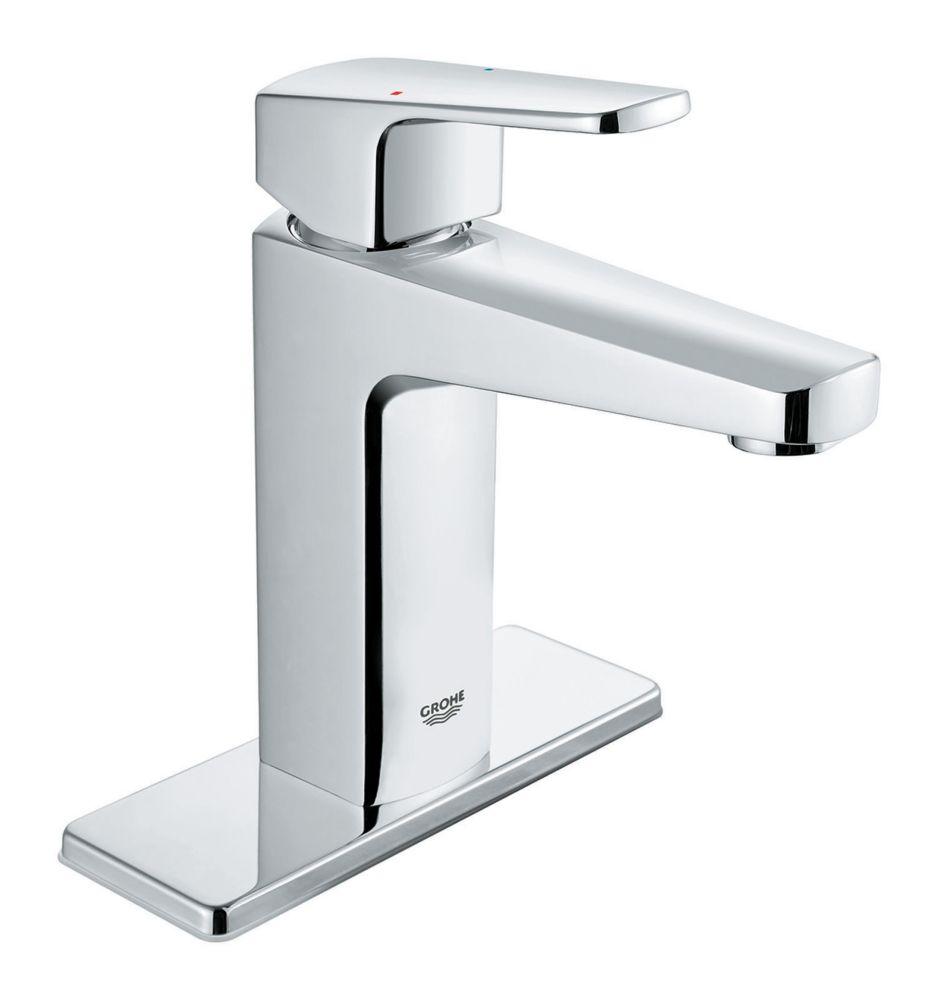 tallinn 4 inch centerset single handle bathroom faucet in starlight chrome