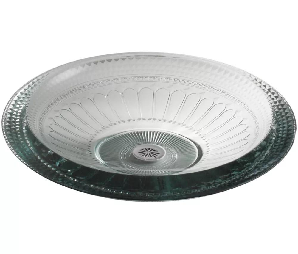 pallene r vessel glass bathroom sink