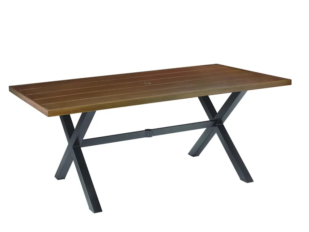 mix match 40 inch x 72 inch patio dining table