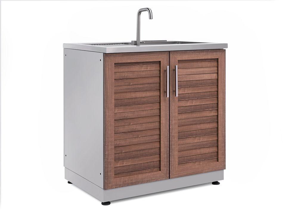 outdoor kitchen grove 32 0 inch w x 36 5 inch h x 24 0 inch d sink cabinet