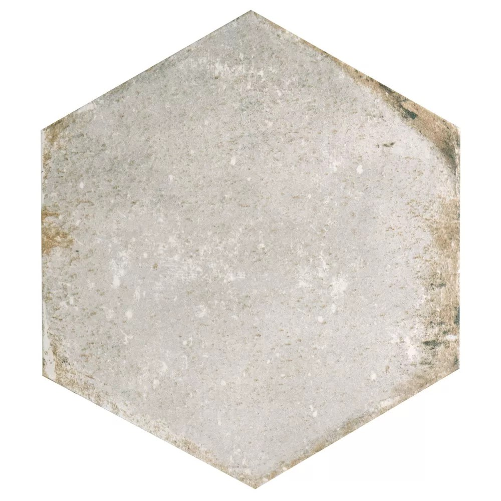 d anticatto hex bianco 11 inch x 12 5 8 inch porcelain floor and wall tile 11 22 sq ft case