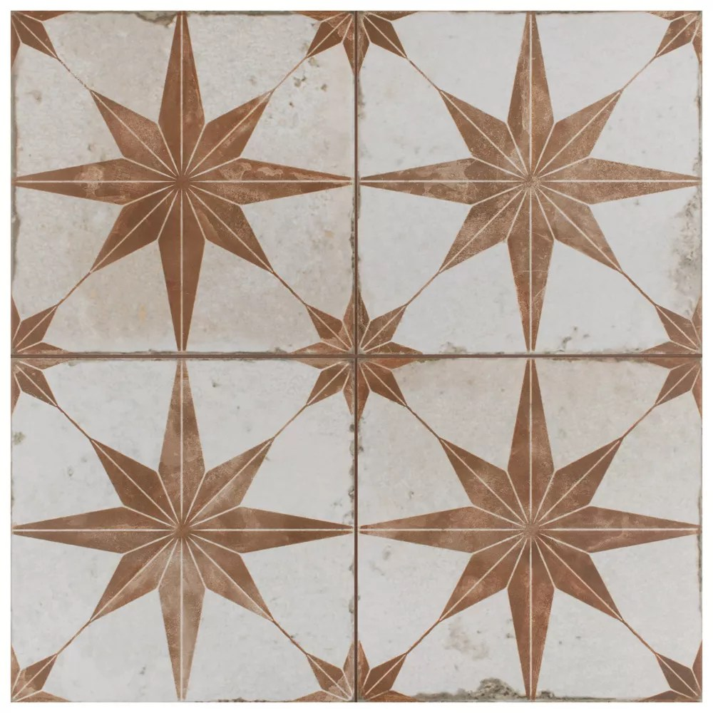 kings star oxide 17 5 8 inch x 17 5 8 inch ceramic floor and wall tile 11 02 sq ft case