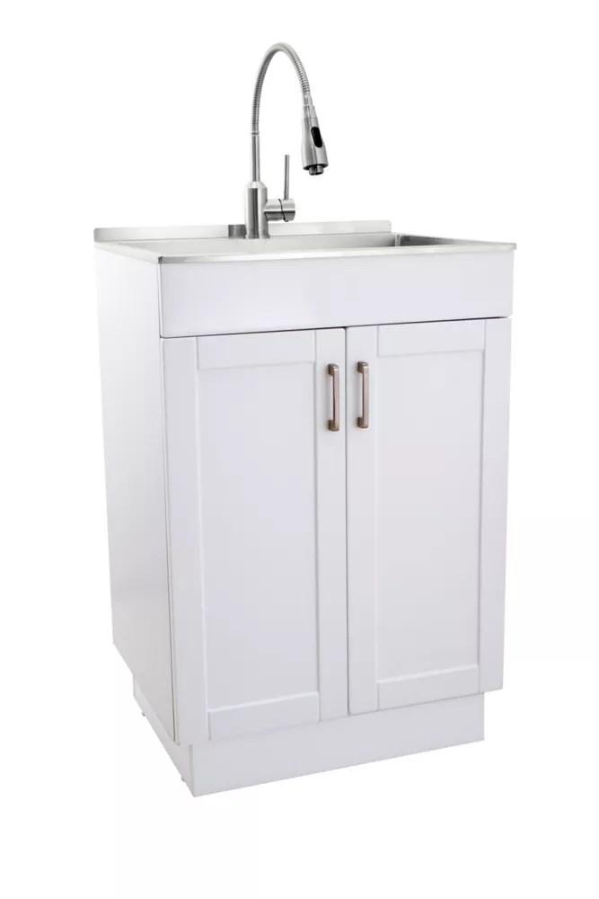 laundry sink faucet cabinet combos