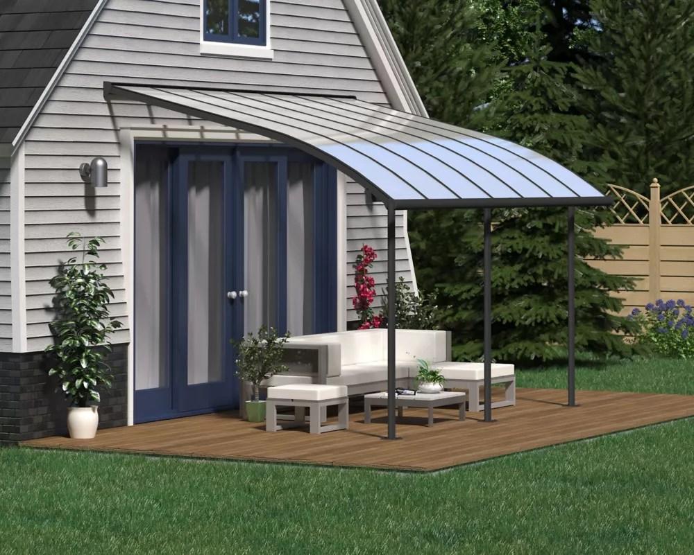 joya patio cover system 10 ft x 14 ft grey