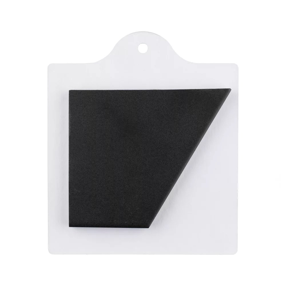 sample textile hex black 6 inch x 6 inch porcelain floor and wall tile
