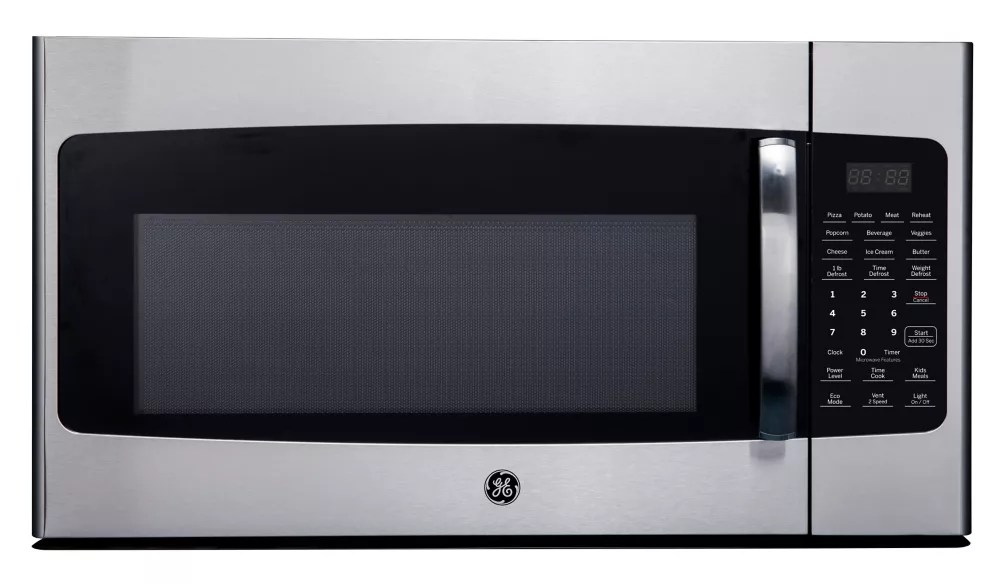 1 6 cu ft over the range microwave oven in stainless steel