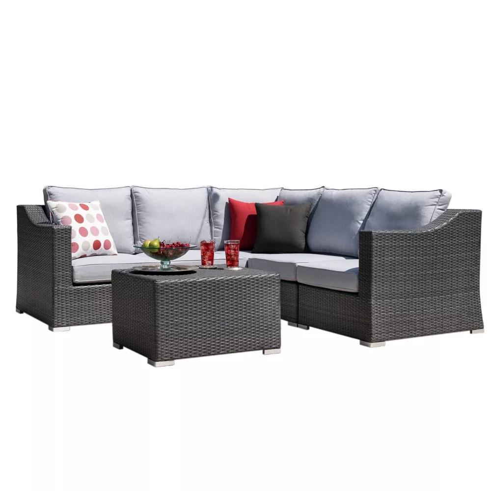 kavala 6 piece patio seating set
