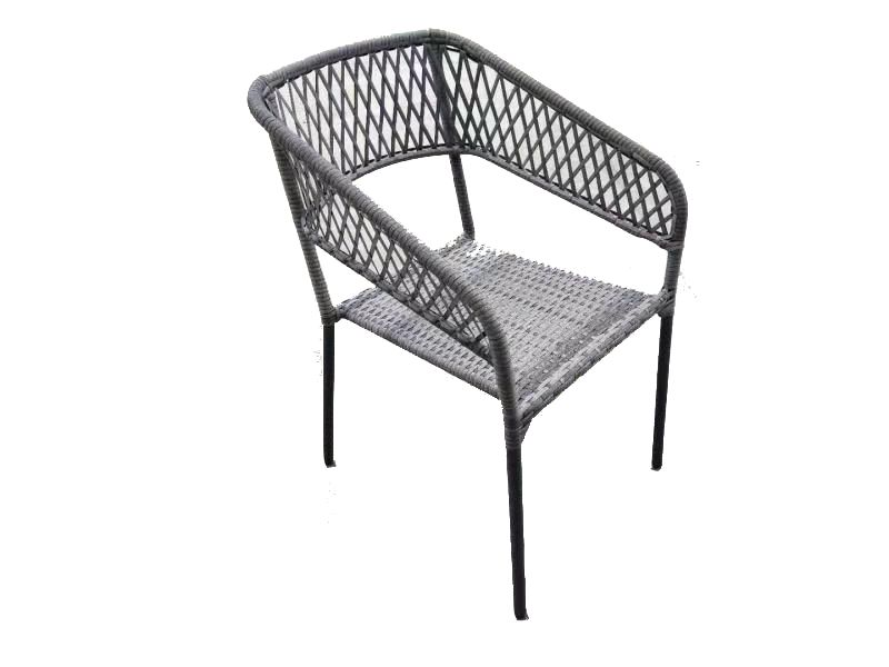 square stacking patio chair
