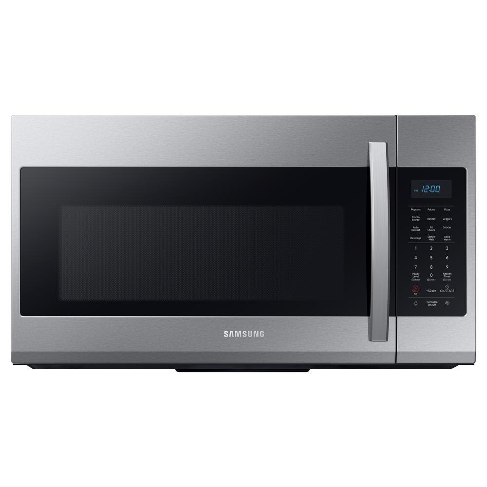 1 9 cu ft over the range microwave in fingerprint resistant stainless steel
