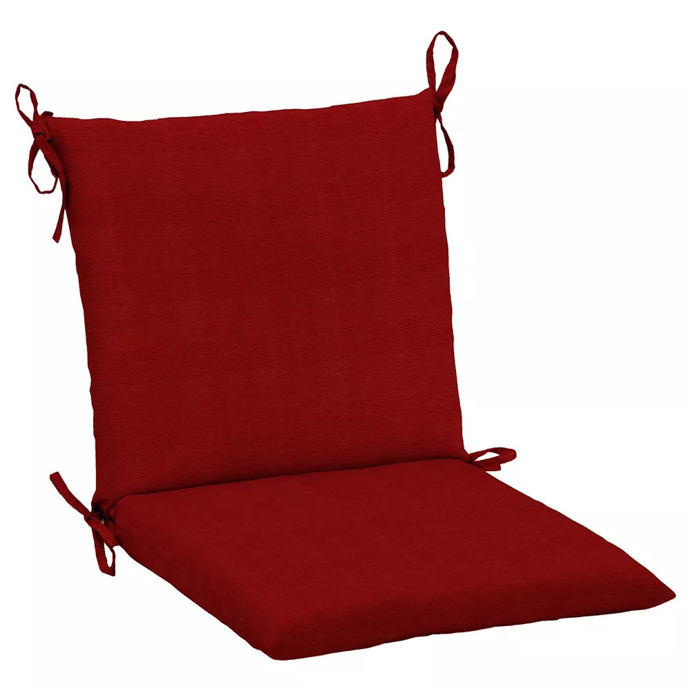 cushionguard chili mid back dining chair cushion